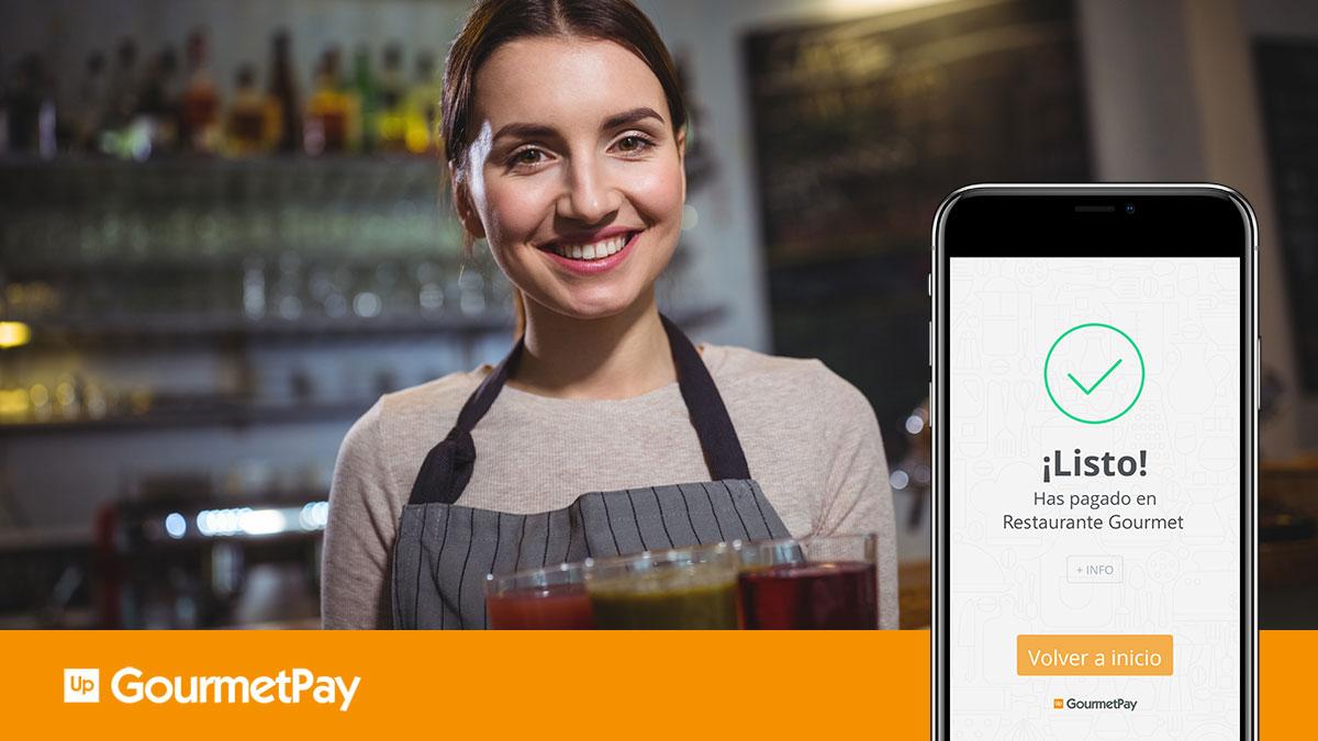 Una app de pago móvil para optimizar la experiencia enrestaurantes