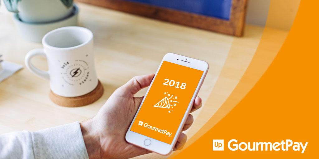 Up GourmetPay: éxitos de nuestra aplicación en2018